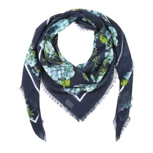 Gucci New Blooms Square Shawl Scarf